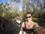 Husband and wife Paddling